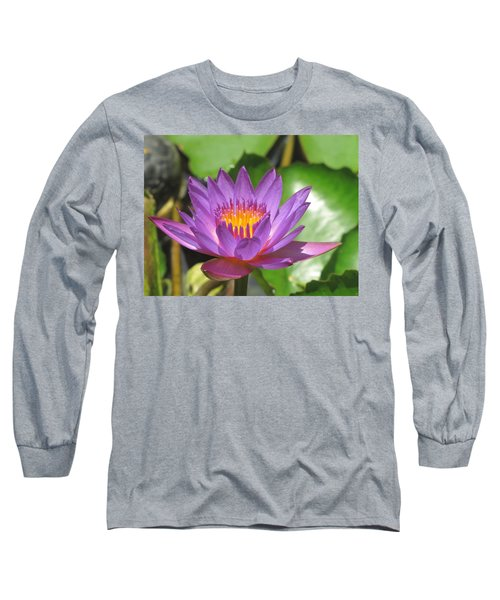 Flower Of The Lilly Long Sleeve T-Shirt