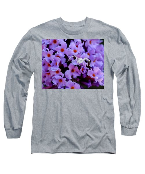 Flower Spider Long Sleeve T-Shirt
