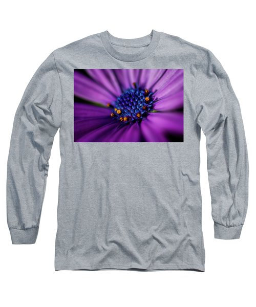 Long Sleeve T-Shirt featuring the photograph Flowers And Sand by Darren White