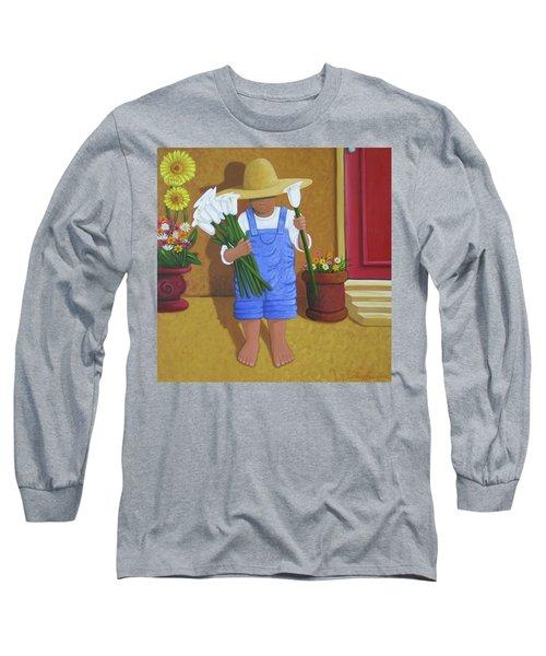 Flowers For A Friend Long Sleeve T-Shirt