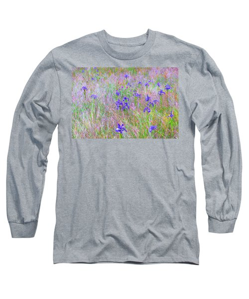 Flowers From Ossue Path Long Sleeve T-Shirt