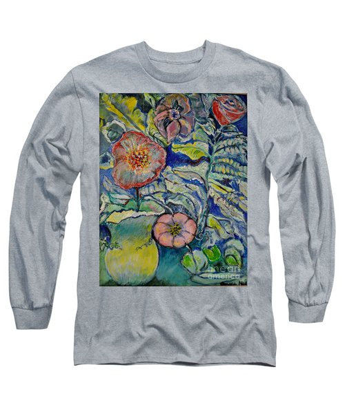 Flowers Gone Wild Long Sleeve T-Shirt