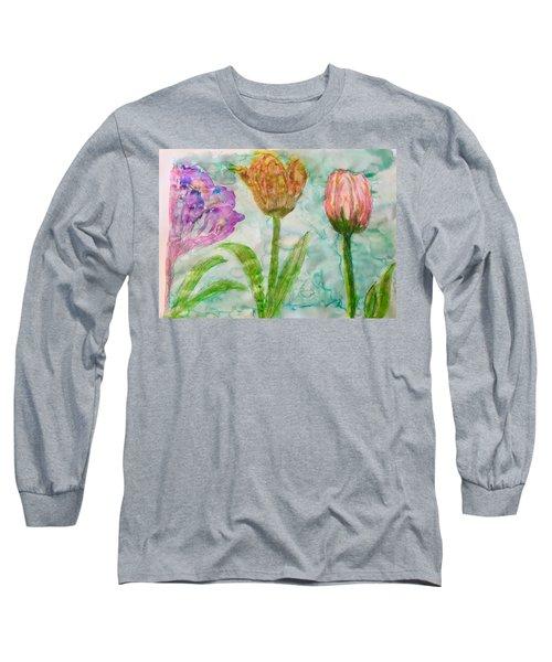 Tulips A'bloom Long Sleeve T-Shirt