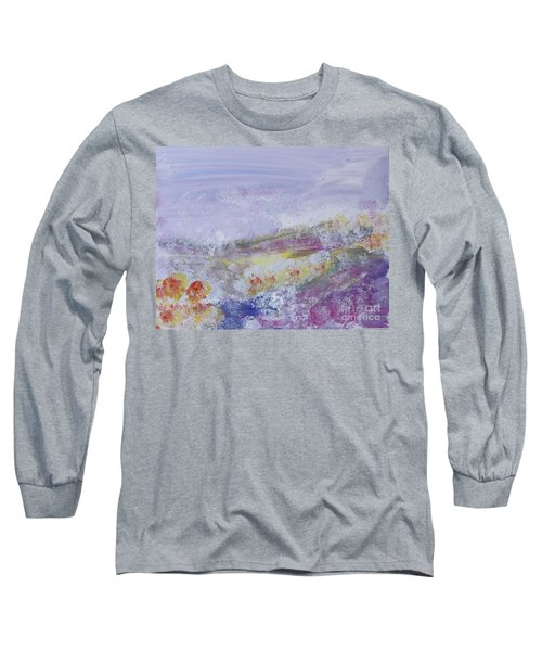 Flowers In The Ether Long Sleeve T-Shirt