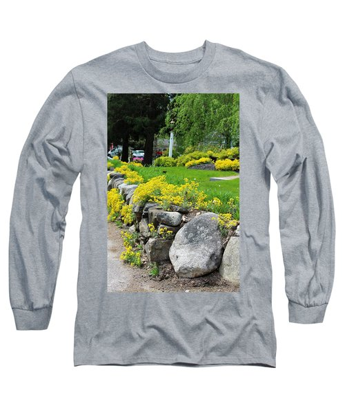 Flowers On The Wall Long Sleeve T-Shirt