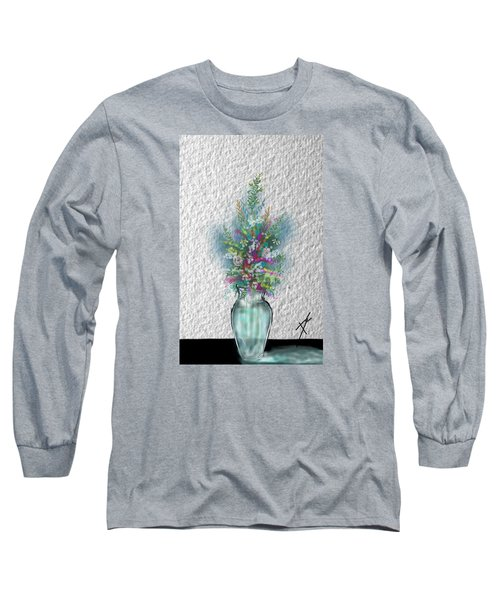 Flowers Study Two Long Sleeve T-Shirt by Darren Cannell