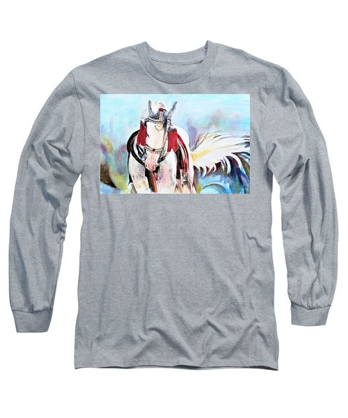 Flowing Tail Long Sleeve T-Shirt