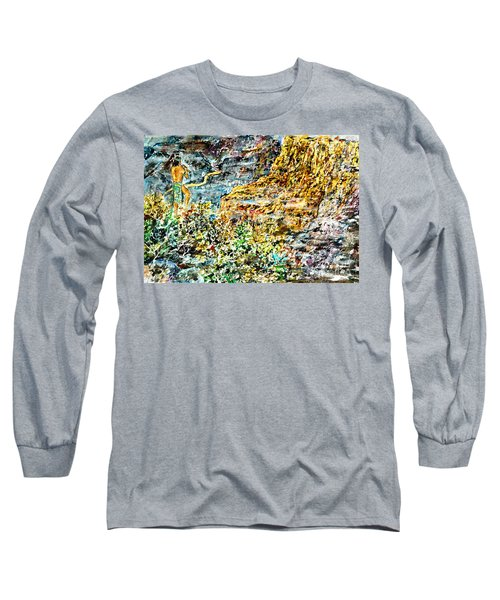 Flutes Breath Long Sleeve T-Shirt by Alfred Motzer