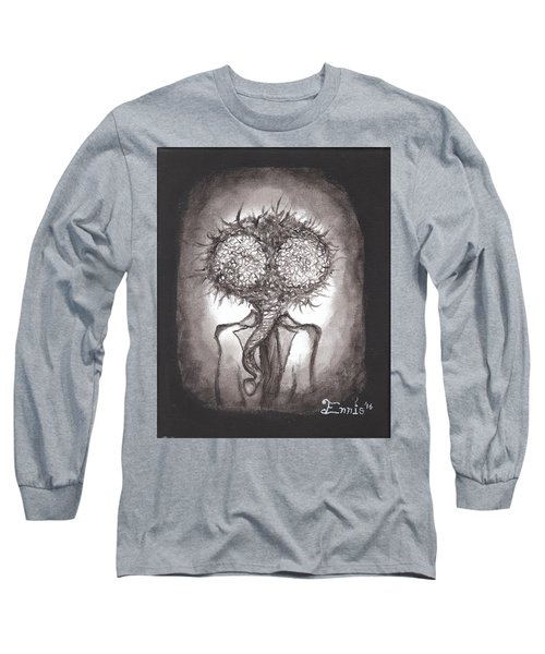 Long Sleeve T-Shirt featuring the painting Fly Guy by Christophe Ennis