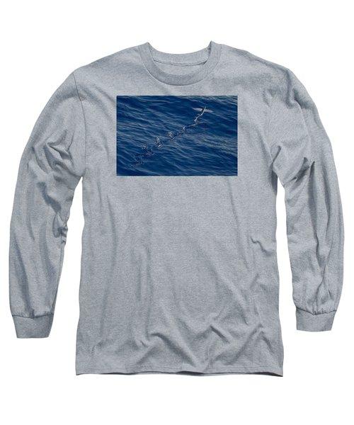 Flyer Long Sleeve T-Shirt by  Newwwman