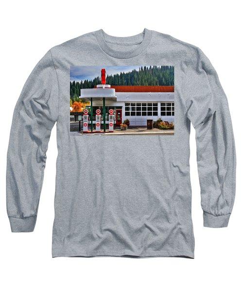 Flying A Gas Long Sleeve T-Shirt