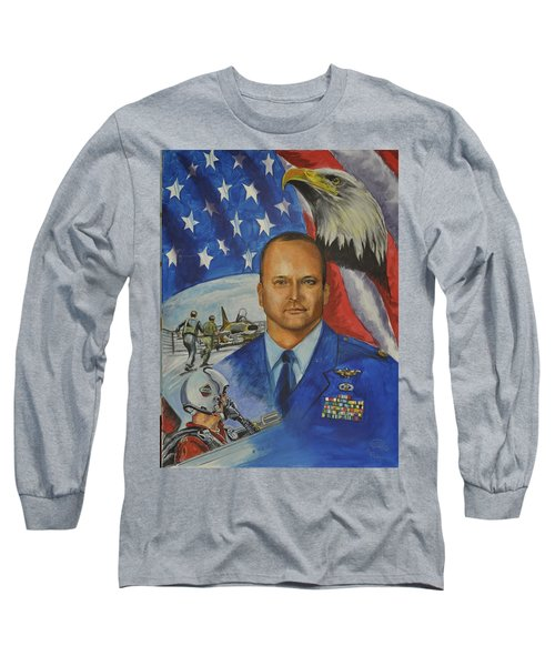 Flying Days Done Long Sleeve T-Shirt by Ken Pridgeon