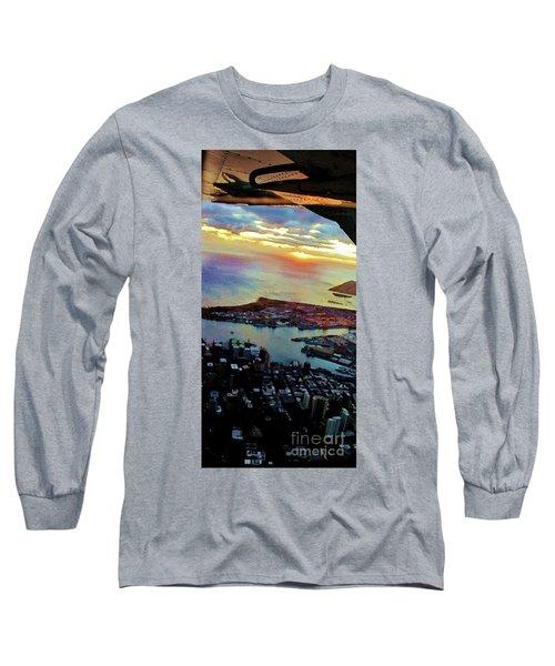 Flying Into Honolulu II Long Sleeve T-Shirt
