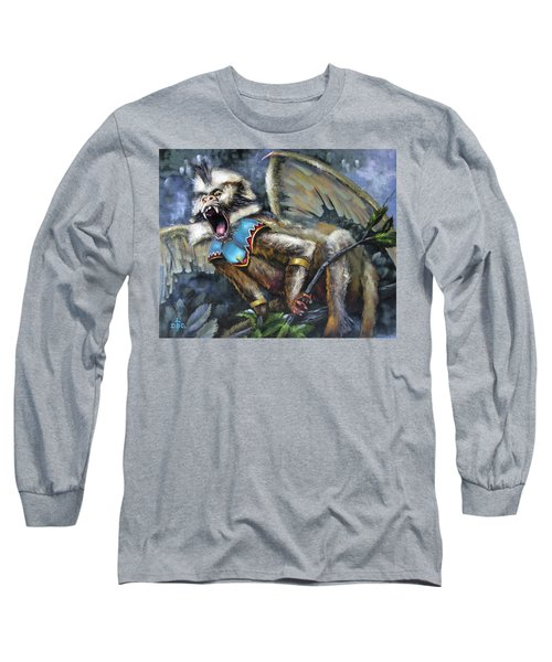 Flying Monkey Long Sleeve T-Shirt