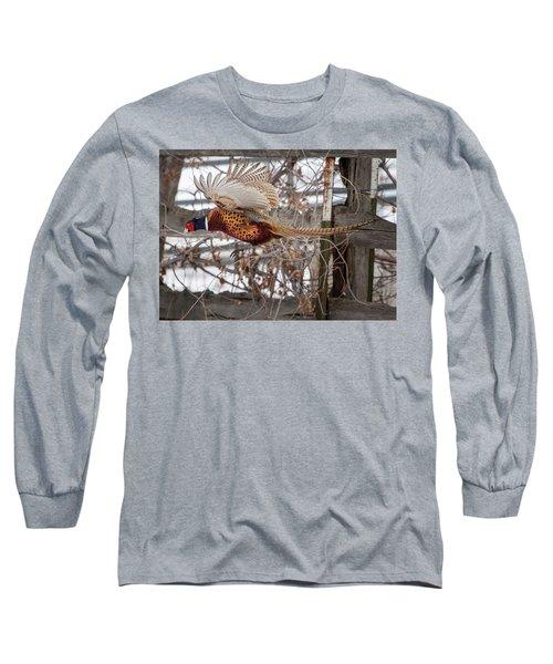 Flying Pheasant Long Sleeve T-Shirt