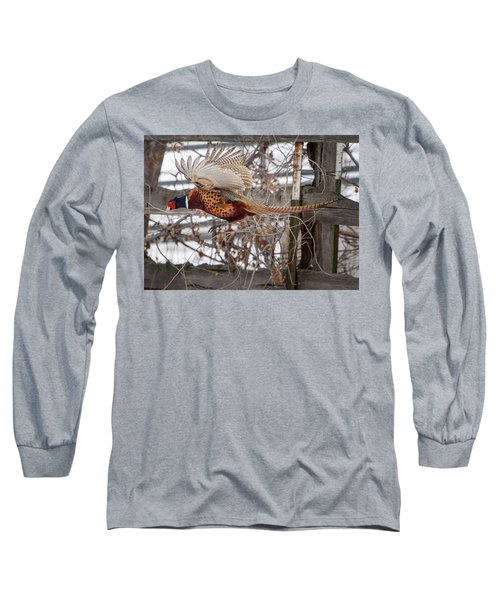 Flying Pheasant Long Sleeve T-Shirt