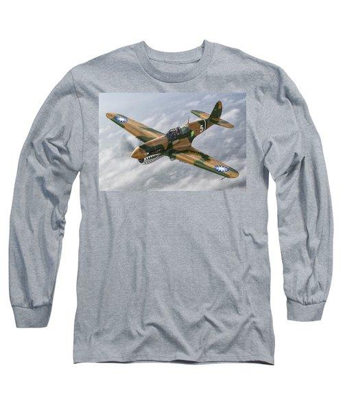 Flying Tiger Long Sleeve T-Shirt