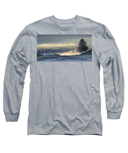 Fog At Sunrise Long Sleeve T-Shirt