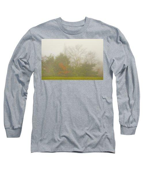 Fog In Autumn Long Sleeve T-Shirt