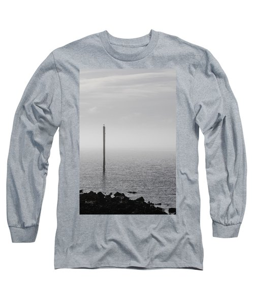 Fog On The Cape Fear River On Christmas Day 2015 Long Sleeve T-Shirt