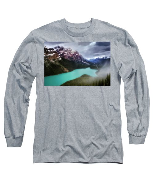 Fog Swirls Long Sleeve T-Shirt by Nicki Frates