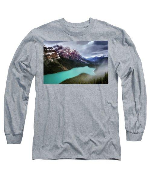 Fog Swirls Long Sleeve T-Shirt