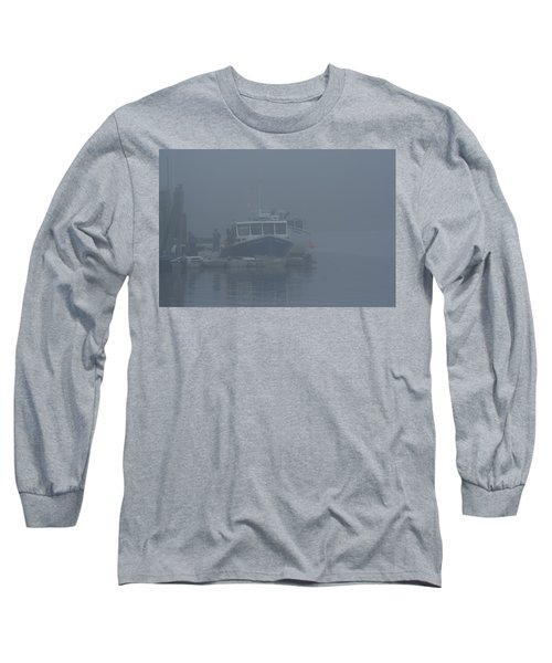 Fogged In At Owls Head Long Sleeve T-Shirt
