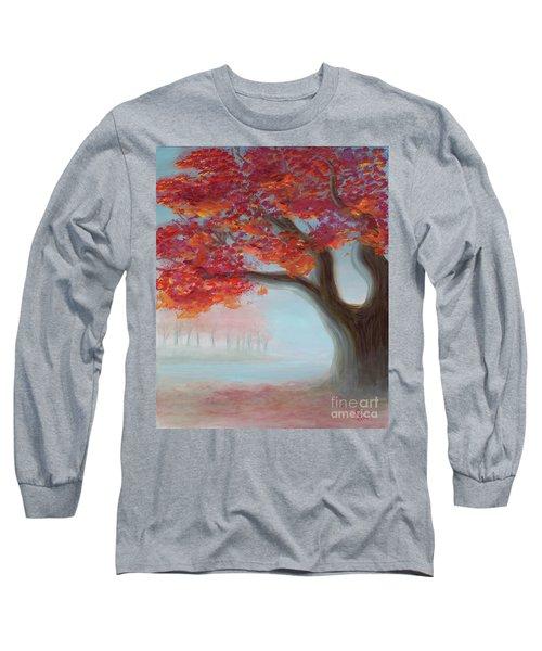 Foggy Autumn Long Sleeve T-Shirt
