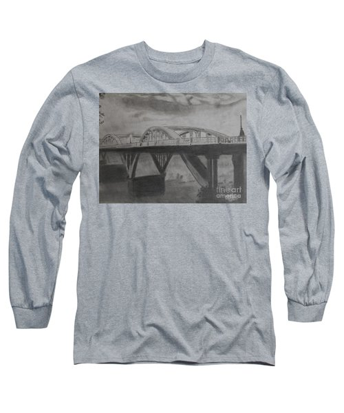 Foggy Bridge Long Sleeve T-Shirt
