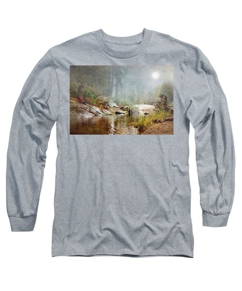 Foggy Fishin Hole Long Sleeve T-Shirt