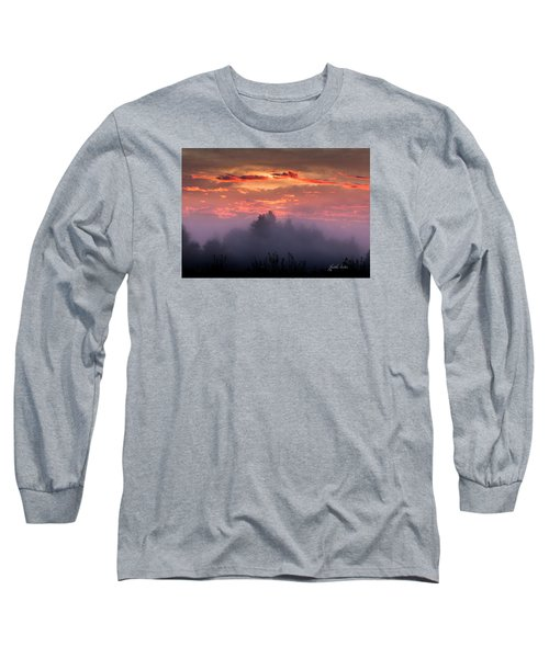 Foggy Mist At Dawn Long Sleeve T-Shirt