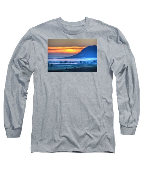 Foggy Morning Long Sleeve T-Shirt