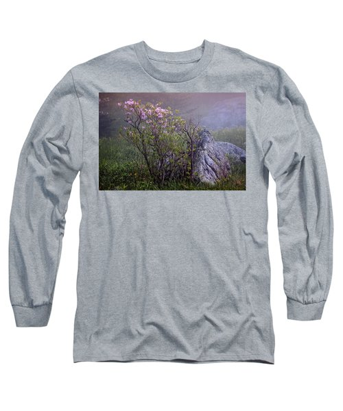 Foggy Pink Azalea Long Sleeve T-Shirt