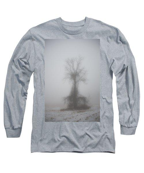 Foggy Walnut Long Sleeve T-Shirt