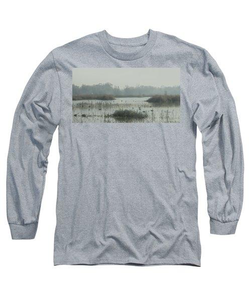 Foggy Wetlands Long Sleeve T-Shirt