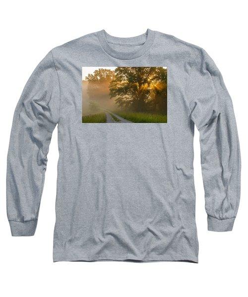 Fogy Summer Morning Long Sleeve T-Shirt