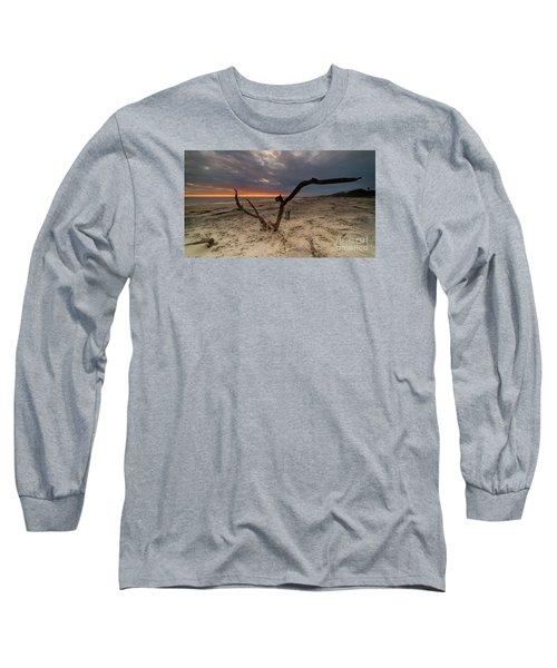Sun Dragon  Long Sleeve T-Shirt by Robert Loe