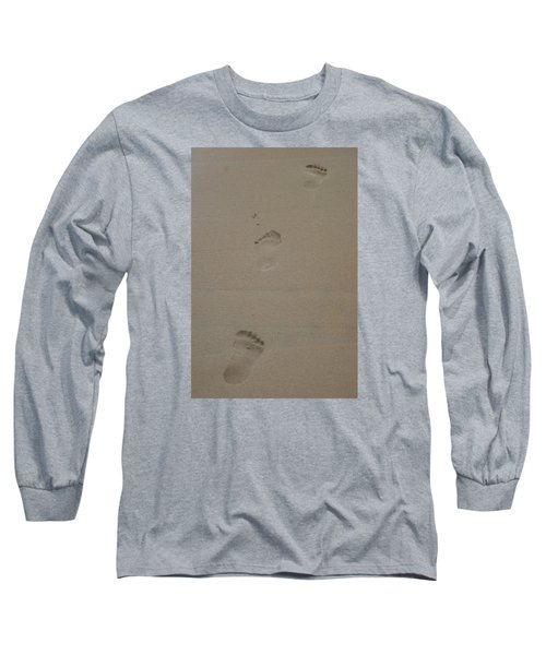 Footprint Long Sleeve T-Shirt