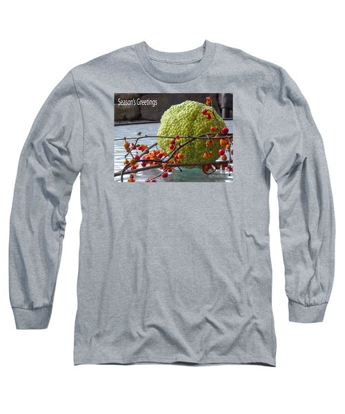 Long Sleeve T-Shirt featuring the photograph For The Birds by Lyric Lucas