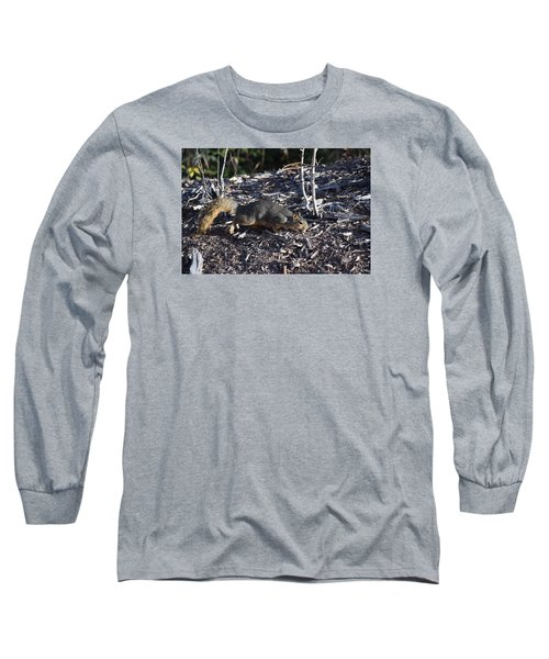 Squirrel Pprh Woodland Park Co Long Sleeve T-Shirt