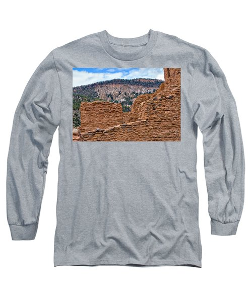 Forbidding Cliffs Long Sleeve T-Shirt by Alan Toepfer