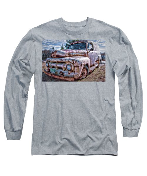 Ford Panel Truck Long Sleeve T-Shirt