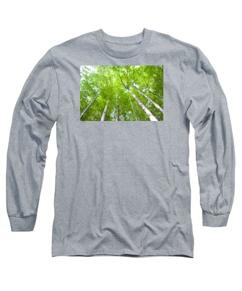 Long Sleeve T-Shirt featuring the photograph Forest 1 by Jean Bernard Roussilhe