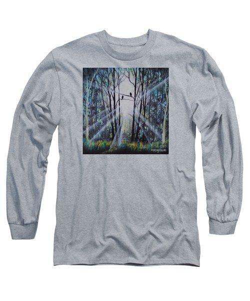 Forest Birds Long Sleeve T-Shirt