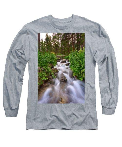 Forest Cascade Long Sleeve T-Shirt