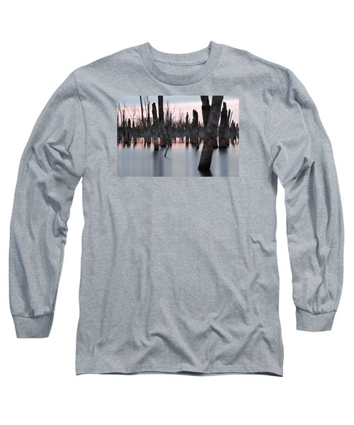 Forest In The Water Long Sleeve T-Shirt by Jennifer Ancker