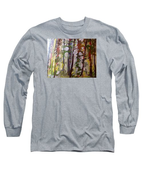 Forest Meeting Long Sleeve T-Shirt by Judith Desrosiers
