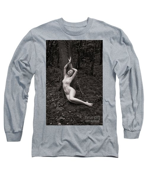 Forest Nude Long Sleeve T-Shirt