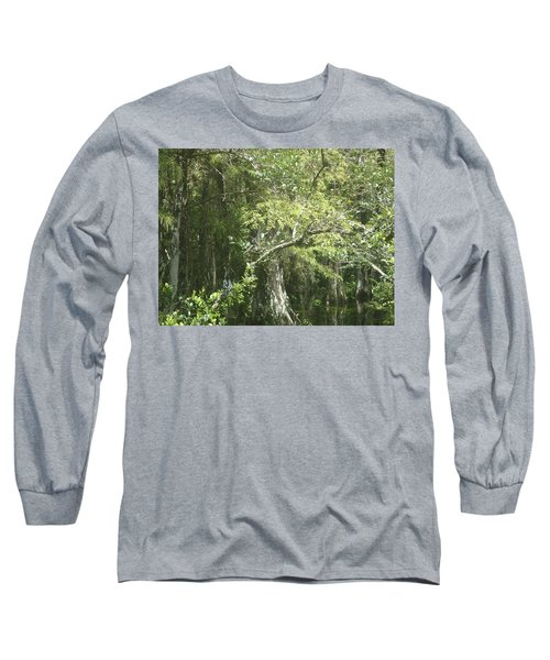 Forest On A Swamp Long Sleeve T-Shirt