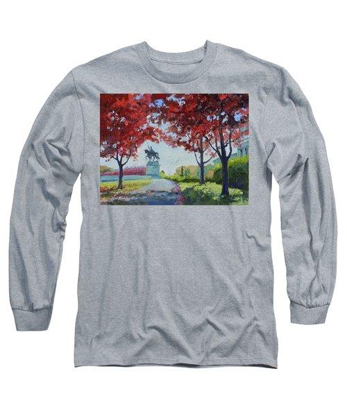 Forest Park Autumn Colors Long Sleeve T-Shirt